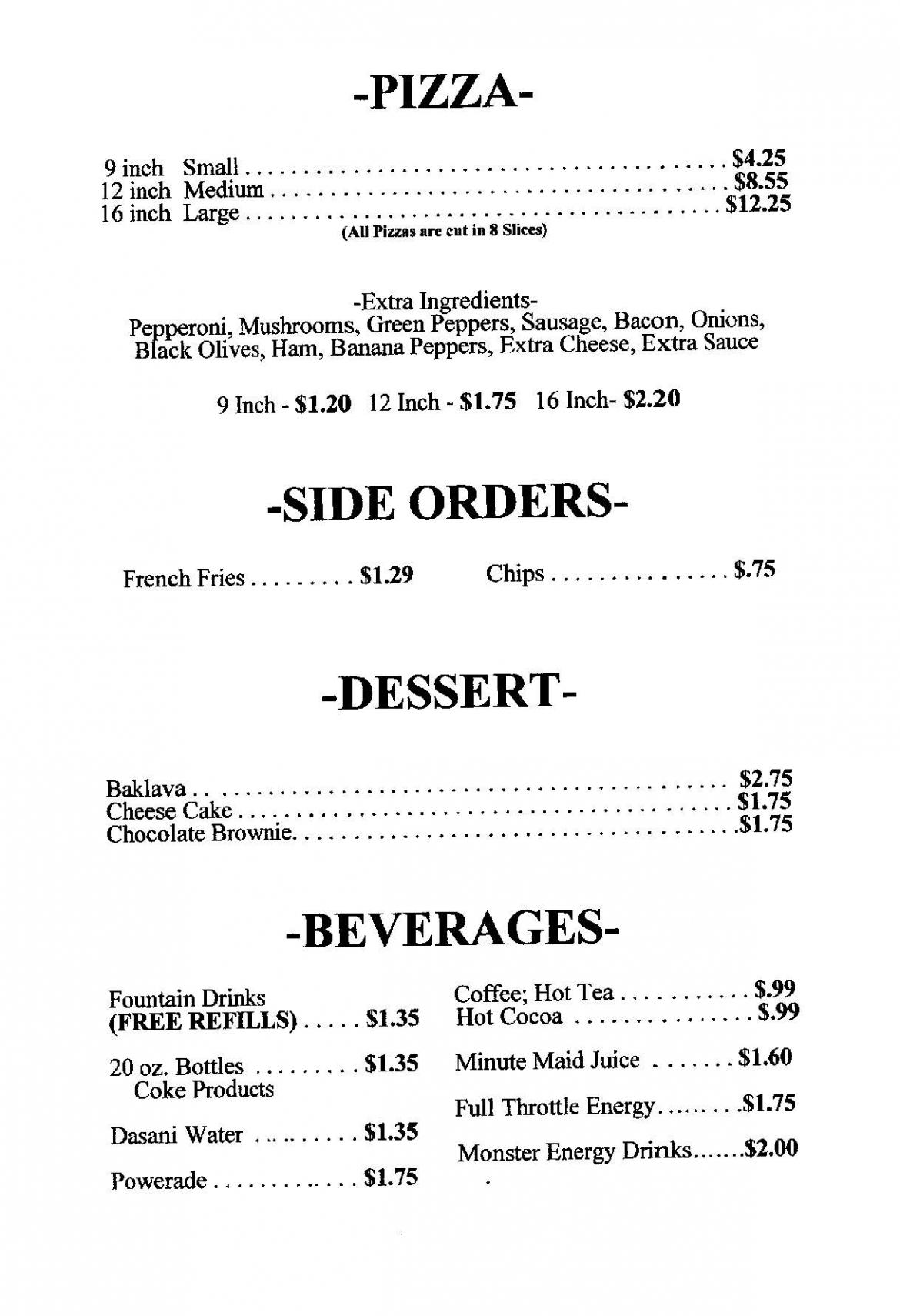 menu right